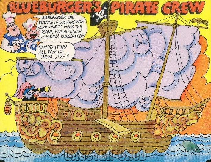 Burger Chef and Jeff: Blueburger Theme Funmeal Pirate Game