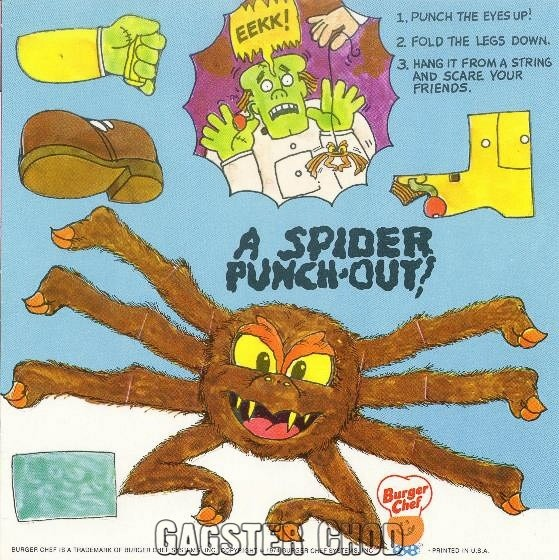 Burger Chef and Jeff: Crankenburger Theme Funmeal Spider Game.