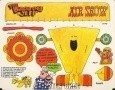 Burger Chef and Jeff: Air Show Theme Funmeal Cut-out Game