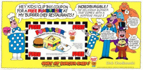 Burger Chef coupon.