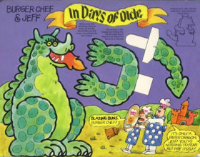 Burger Chef Funmeal: In Days of Olde