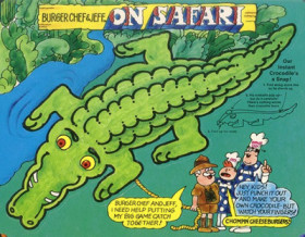 Burger Chef Funmeal: On Safari with Clyde Bwanaburger.