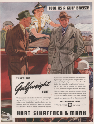 Gulfweight Suit by Hart Schaffner and Marx
